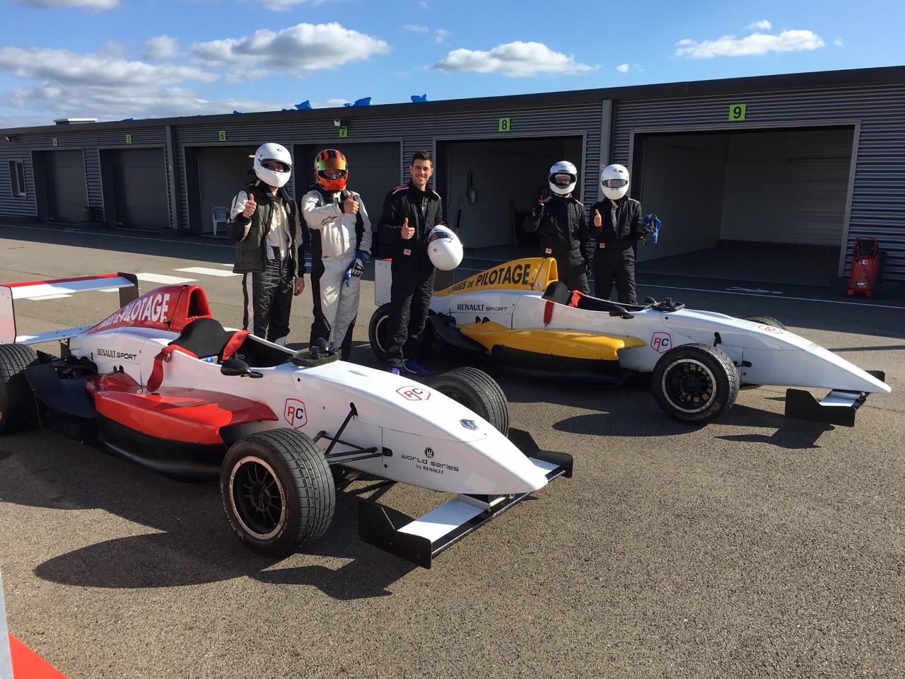 Stage de pilotage FormuleRenault 2.0L