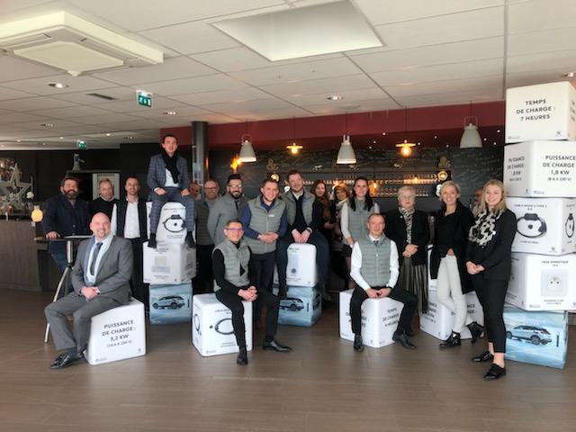 Formation centre d'essai PSA Retail Alsace
